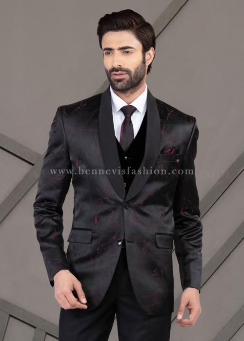 Black wedding suit for Men
