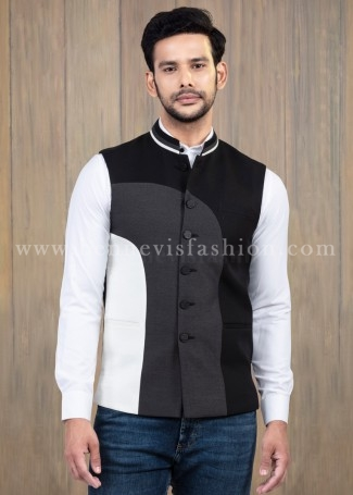 Stylish Yellow Bundi jacket for men