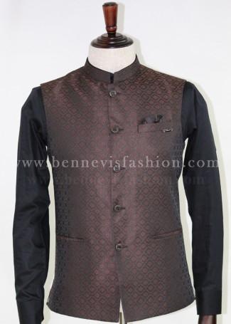 Brown Bundi Jacket for Men